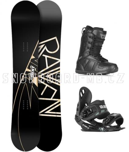 Snowboard komplet Raven Element - VÝPRODEJ