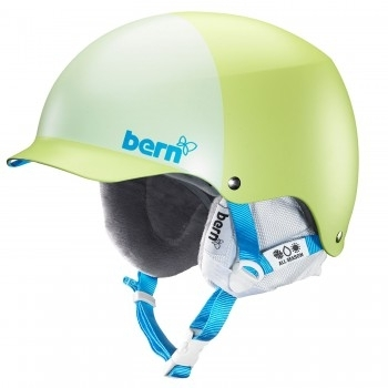 Dámská helma Bern Muse matte lime green hatstyle, snowboardová a lyžařská přilba - VÝPRODEJ