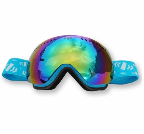 Snowboardové a lyžařské brýle Pitcha SG5 Snow Goggles blue/modré