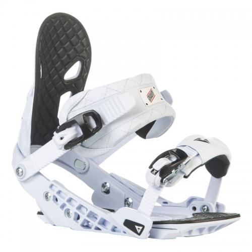 Snowboardové vázání Gravity G2 white/bílé  - VÝPRODEJ