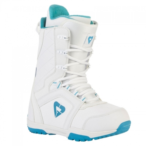 Dívčí boty na snowboard Gravity Aura white/blue bílé/modré - VÝPRODEJ