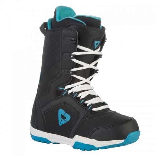 Dámské snowboardové boty Gravity Aura black/blue černé/modré - VÝPRODEJ