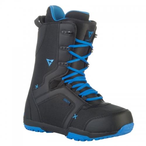 Pánské snowboardové boty Gravity Recon black/blue - VÝPRODEJ