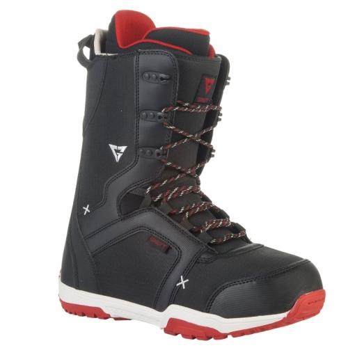 Boty na snowboard Gravity Recon black/red - VÝPRODEJ