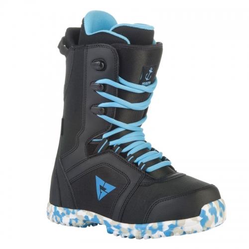 Dětské snowboardové boty Gravity Micro black/blue  - VÝPRODEJ