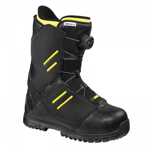 Snowboardové boty Flow Solite Boa Coiler black/černé - VÝPRODEJ