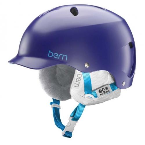 Dámská helma Bern Lenox satin midnight - VÝPRODEJ