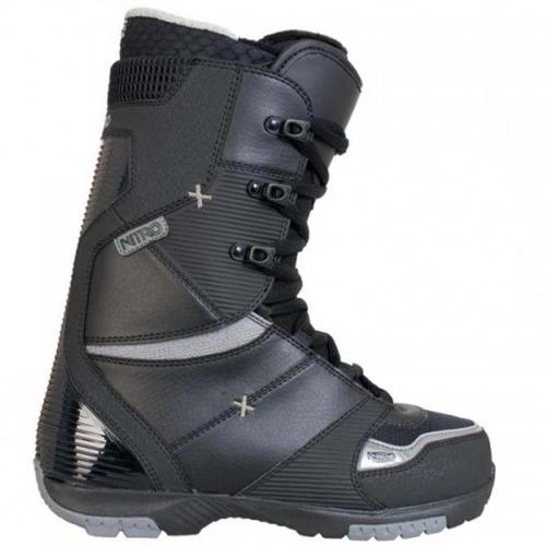 Snowboardové boty Nitro Ultra black, kvalitní snb boty pánské  - VÝPRODEJ