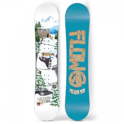 Dětský snowboard Flow Micron Mini pro malé děti - VÝPRODEJ