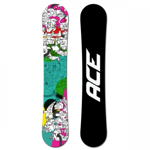 Snowboard Ace Mayday, univerzální snowboardy - VÝPRODEJ