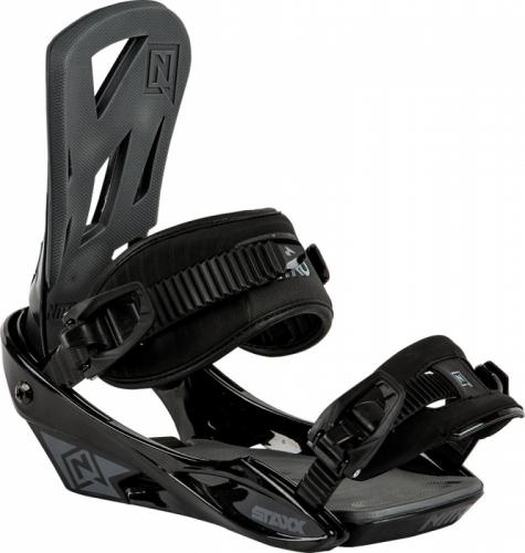 Snowboardové vázání Nitro Staxx black/černé - AKCE