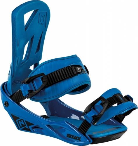 Vázání na snowboard Nitro Staxx blue / modré - AKCE