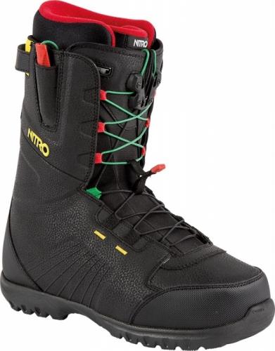 Boty na snowboard Nitro Nomad TLS irie, rychlé utahování šňůrkami - AKCE