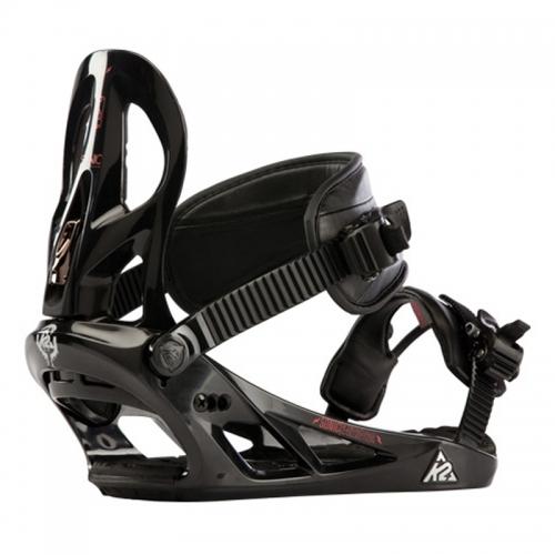Snowboardové vázání K2 Sonic black/černé - VÝPRODEJ