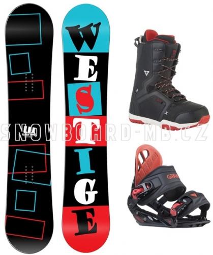 Snowboardový komplet Westige Square - VÝPRODEJ