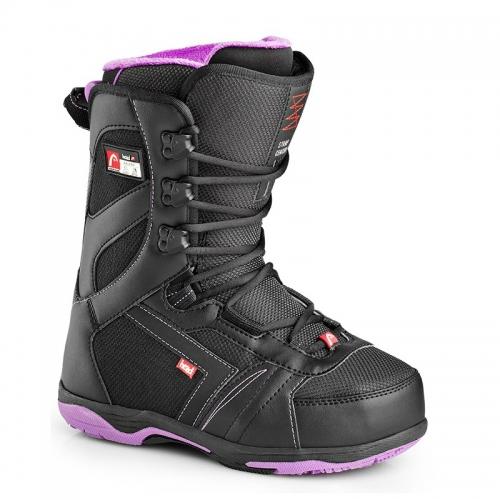 Dámské boty Head Galore black/purple, dámská snowboardová obuv - VÝPRODEJ