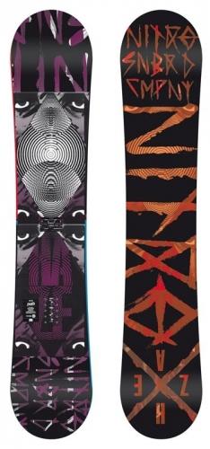 Freestyle snowboard Nitro Haze, kvalitní freestylové snowboardy - AKCE