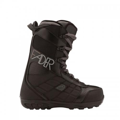Dámské snowboardové boty Nitro Fader black / černé - VÝPRODEJ