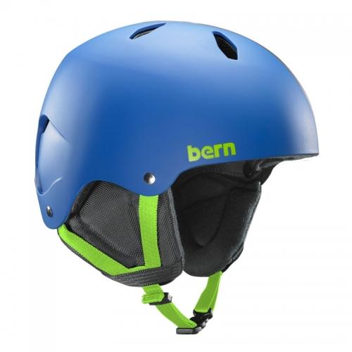 Dětská přilba na snowboard a lyže, helma Diablo cobalt blue / matná modrá - AKCE