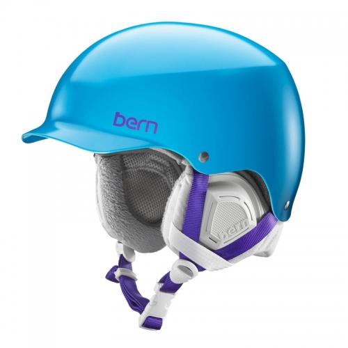 Dámská helma na snowboard Bern Muse Satin ocean blue / modrá - AKCE