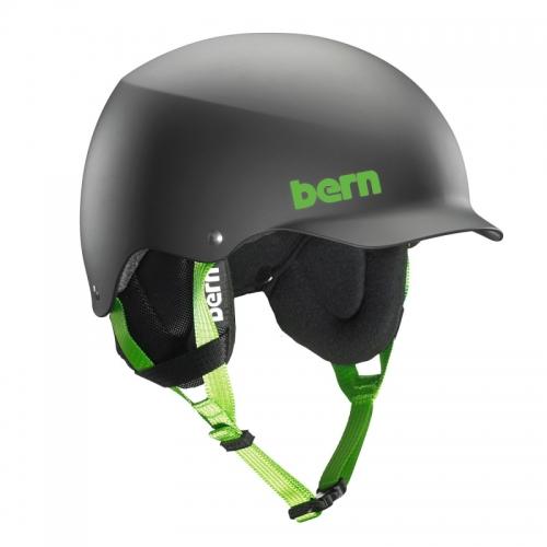 Přilba na lyže a snowboard Bern Team Baker matte black - AKCE