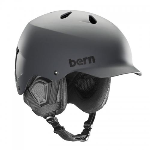 Snowboard helma Bern Watts matte grey - VÝPRODEJ