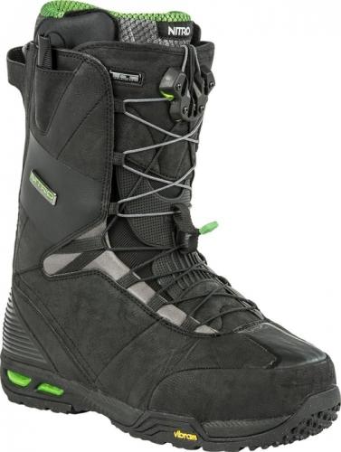 Snowboardové boty Nitro Select TLS black, nejlepší boty na snowboard - AKCE