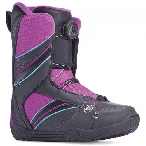 Dámské boty K2 Kat black BOA utahování kolečkem - VÝPRODEJ