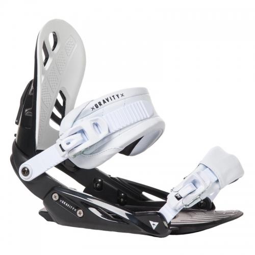 Snowboardové vázání Gravity G1 black/white černo/bílé - VÝPRODEJ