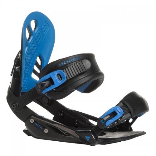 Snowboard vázání Gravity G1 black/blue 2016/17 - VÝPRODEJ