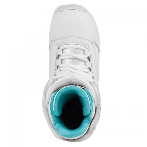 Dětské snowboardové boty Gravity Micra white/bílé, dívčí boty na snowboard - VÝPRODEJ