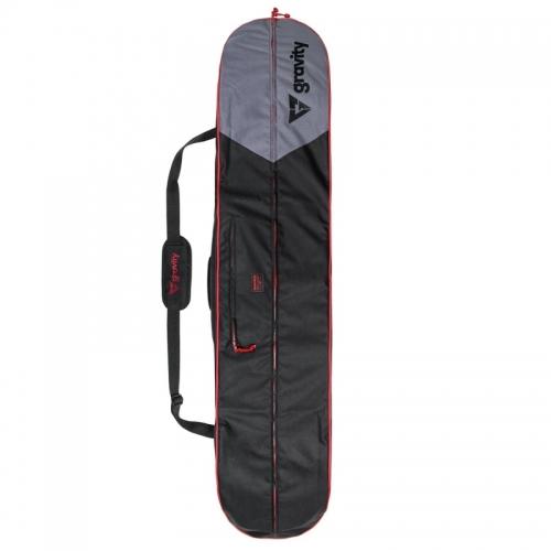 Snowboardový vak, obal Gravity Icon black/red, taška na celý komplet