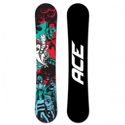 Snowboard komplet Ace Villain, akční levné snowboard komplety - VÝPRODEJ