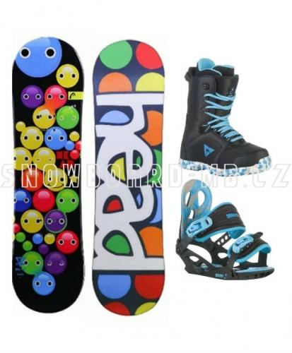 Dětský snowboard komplet Head Ambitious Kid - VÝPRODEJ