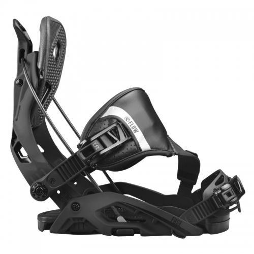 Snowboard vázání Flow Fuse Hybrid black černé - VÝPRODEJ
