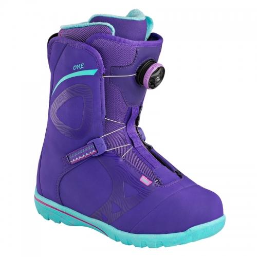 Dámské boty na snowbaord Head One Wmn Boa fialové/tyrkysové - AKCE