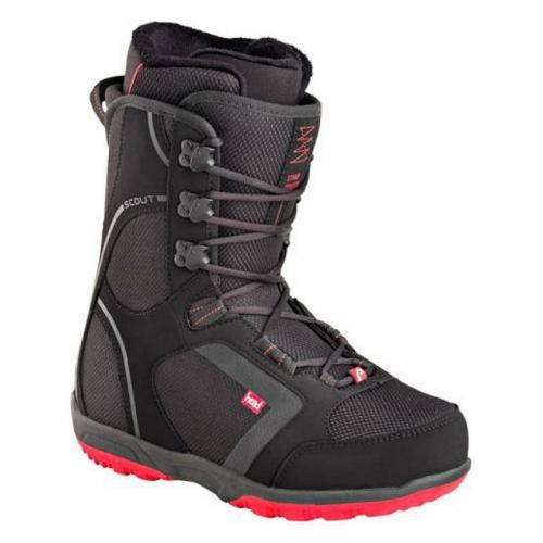 Snowboardové boty Head Scout Pro black/red černé/červené - VÝPRODEJ