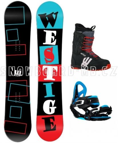 Snowboard komplet Westige Square  - VÝPRODEJ
