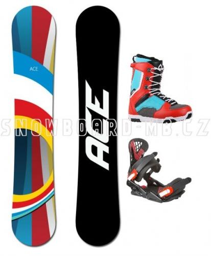Snowboard komplet Ace B52 - VÝPRODEJ