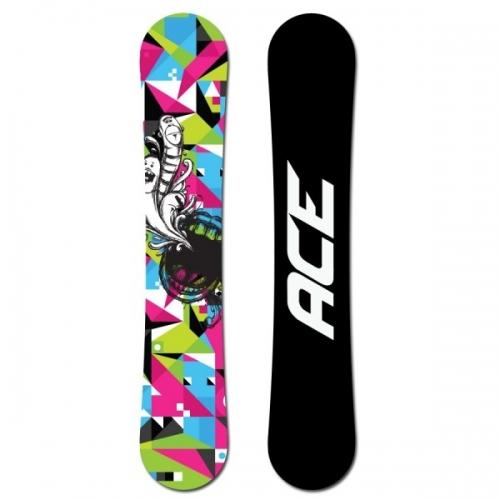 Dámský snowboard komplet Ace Demon - VÝPRODEJ