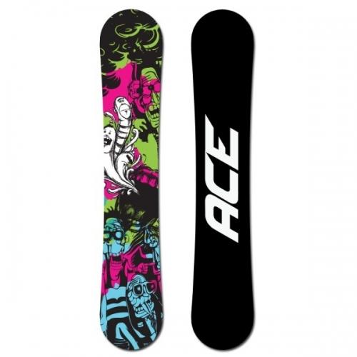 Snowboardový komplet Ace Monster, levné snowboardy - VÝPRODEJ