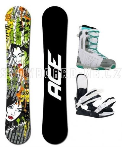 Dámský snowboard komplet Ace Vixen - VÝPRODEJ