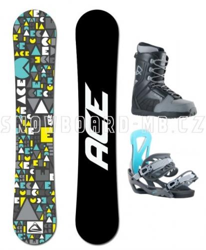 Snowboardový komplet Ace Mojo, levné snowboard sety pro začátečníky - VÝPRODEJ