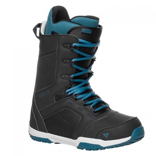 Boty na snowboard Gravity Recon black/blue černé/modré - VÝPRODEJ
