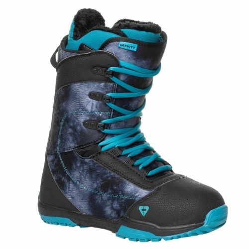 Dámský snowboardový komplet Raven Flossy černý/fialový/modrý - VÝPRODEJ