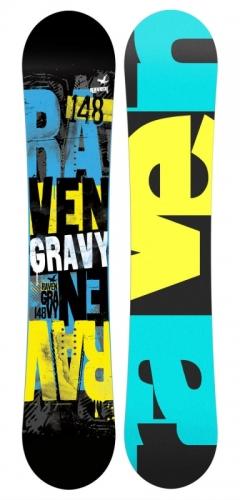 Chlapecký snowboardový komplet Raven Gravy junior s botami - AKCE