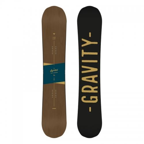 Snowboard komplet Gravity Symbol 17/18 - VÝPRODEJ