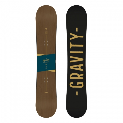 Pánský snowboard komplet Gravity Symbol 17/18 - VÝPRODEJ