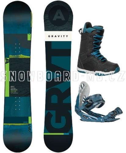 Snowboardový komplet Gravity Adventure 17/18 - VÝPRODEJ