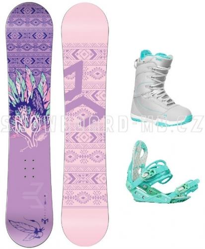 Dámský a dívčí snowboardový set Beany Spirit s botami Gravity  - VÝPRODEJ